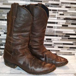 Vintage Durango cowboy boots 12D